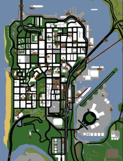 Snapshots Map