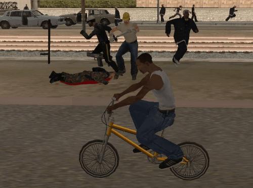 GTA San Andreas Cheats in PC