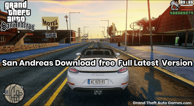 GTA San Andreas Download for Free Full Latest Version