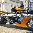 Motorcycle cheat GTA 5 PS4