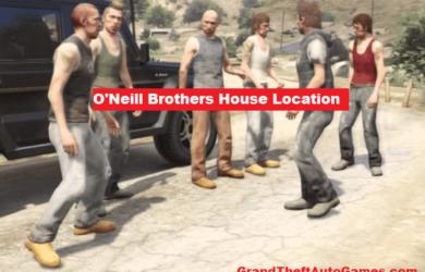 GTA 5 O'Neill Brothers House Location