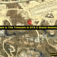 Where is The Treasure in GTA 5 Grand Senora Desert?